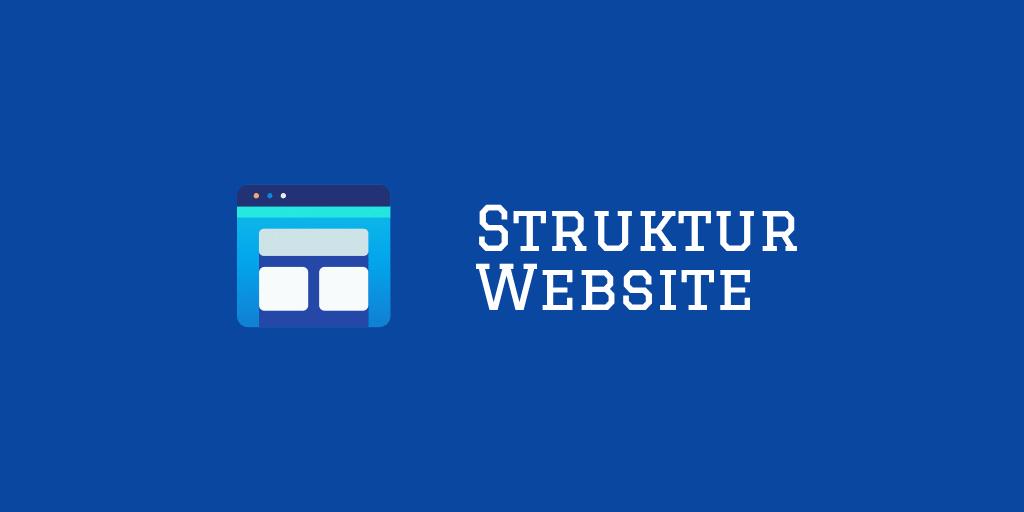 bagaimana cara membangun struktur situs web?